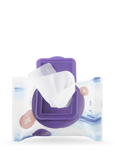Unscented Facial Wipes 25 pack