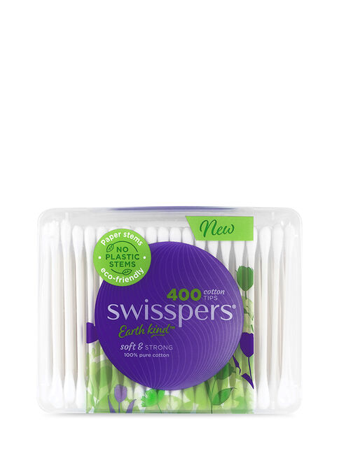 Cotton Tips Paper Stems 400pk