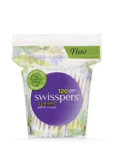 Cotton Tips Paper Stems 120pk