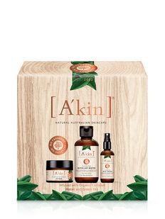 A'kin Organic Coconut Water & Green Tea Gift Set