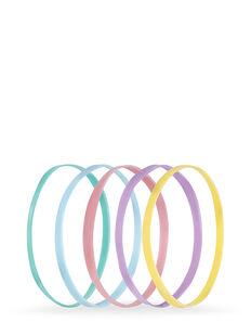 Pastel Snagless Elastomer Elastics - Pk 50