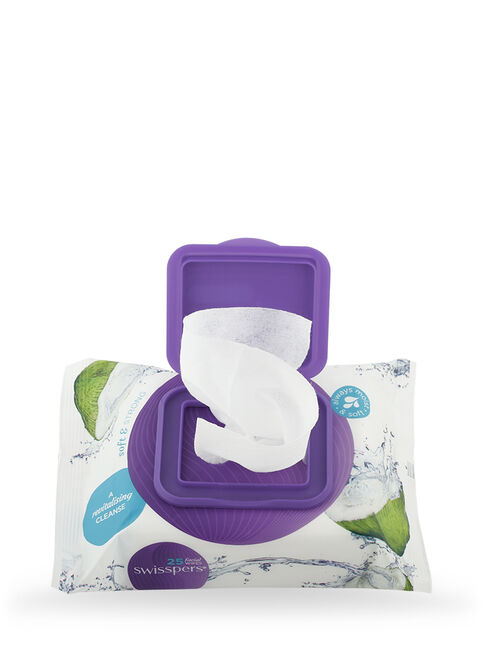 Micellar and Coconut Water Facial Wipes 3 x 25 pack