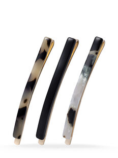 Beige Slim Slides - 3 Pk