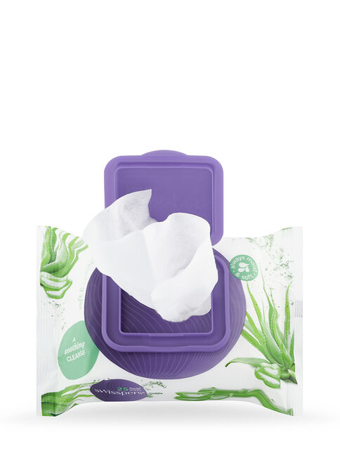 Aloe Facial Wipes 2x25 pack