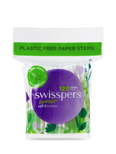 Cotton Tips Paper Stems 120 Pack