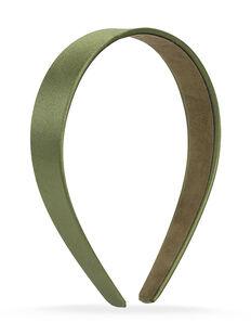Thick Satin Headband - Green