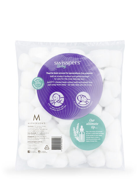 Cotton Wool Balls 60 pack